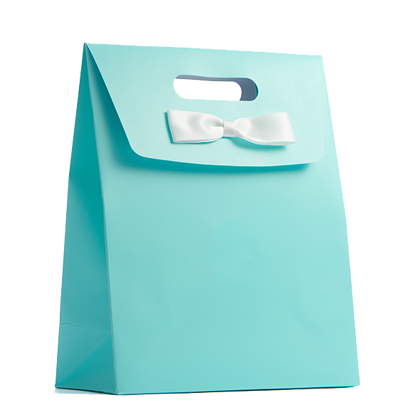 Wedding Blue Bag